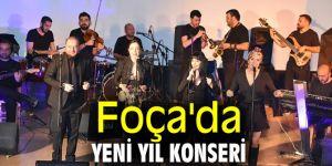 Foça'da yeni yıl konseri