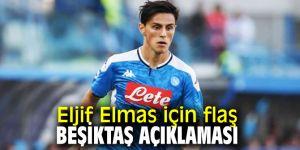 Eljif Elmas'ın transferi ile ilgili  flaş açıklama