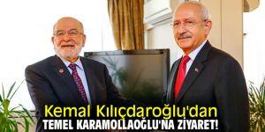 Kemal Kılıçdaroğlu'dan Temel Karamollaoğlu'na ziyaret!