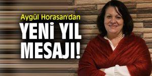 Aygül Horasan'dan yeni yıl mesajı!