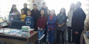 Mühendis adaylarından Gerenköy'e kitap bağışı!