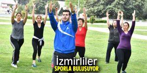 İzmirliler sporla buluşuyor