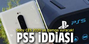 Sony CES'den PS5 iddiası!