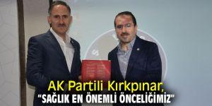AK Partili Kırkpınar, Sağlık-Sen İzmir'in toplantısına katıldı!