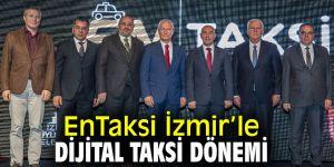 """""""EnTaksi İzmir"""" bugün hizmete girdi!"""