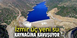 Çeşme Yarımadası ve Ödemiş'teki üç yeni su tesisi hizmete açılacak!