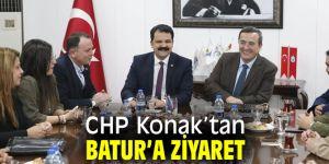 CHP Konak'tan Başkan Batur'a ziyaret!