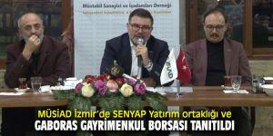 MÜSİAD İzmir'de önemli tanıtımlar!