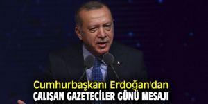 Cumhurbaşkanı Recep Tayyip Erdoğan'dan 10 Ocak mesajı!
