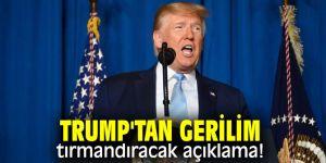 ABD Başkanı Donald Trump'tan İran'a uyarı