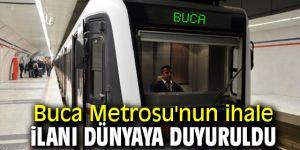 Buca Metro ihalesi dünyaya duyuruldu!