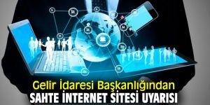 GİB'ten sahte internet sitesi uyarısı