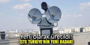 Türkiye'nin yerli radarı üretildi!
