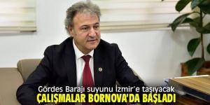 Gördes Barajı suyu İzmir'e taşınacak!