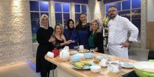 Derya Şen Ayvaz Şefin mutfağında!