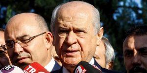 """Bahçeli'den önemli """"Başkanlık Sistemi"""" açıklaması"""