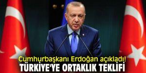Cumhurbaşkanı Erdoğan açıkladı! Türkiye'ye ortaklık teklifi