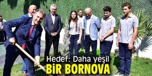 Başkan İduğ daha yeşil bir Bornova için çalışıyor!