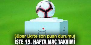 İşte Süper Lig'te son puan durumu