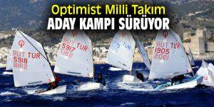Optimist Milli Takım Aday Kampı devam ediyor