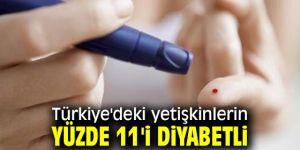 Dünyada diyabetli yetişkinlerin oranı açıklandı!