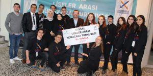 """""""Ulusal Liseler Arası Münazara Turnuvası"""" düzenlendi!"""