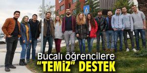"""Buca Belediyesi'inden Bucalı öğrencilere """"temiz"""" destek!"""