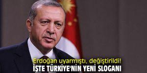 Türkiye'nin yeni sloganı: 'Made in Türkiye'