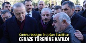 Erdoğan Elazığ'da Cenaze törenine katıldı!