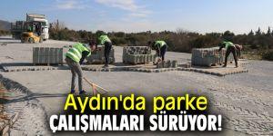Aydın'da parke çalışmaları sürüyor!