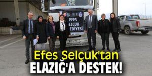 Efes Selçuk'tan Elazığ'a destek!