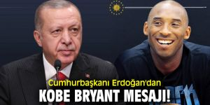 Erdoğan'dan Kobe Bryant mesajı!