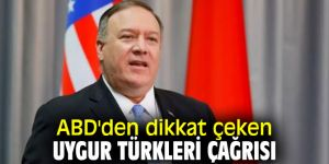 ABD'den flaş Uygur Türkleri çağrısı