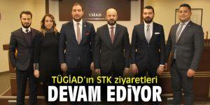 Türkiye Genç İş Adamları Derneği'nin STK ziyaretleri devam ediyor
