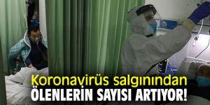 Koronavirüs salgınından ölenlerin sayısı artıyor!