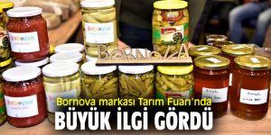 Bornova'nın özgü tarım ürünleri, Tarım Fuarı'nda tanıtıldı!