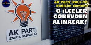 AK Parti İzmir'de değişim zamanı!