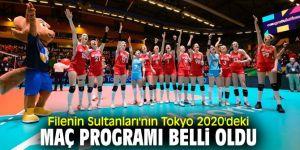 Filenin Sultanları'nın Tokyo 2020'deki maç programı belli oldu