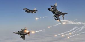 Irak'ın kuzeyine hava harekatı düzenlendi!