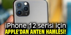 Apple'dan anten hamlesi!
