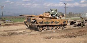 Sınıra tank sevkiyatı sürüyor!