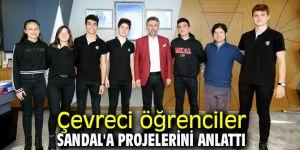 Başkan Sandal öğrencilere destek verecek