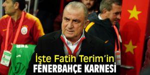 İşte Terim'in Fenerbahçe karnesi