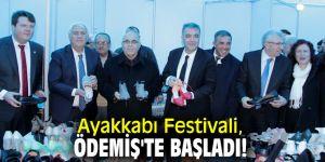 Ayakkabı Festivali, Ödemiş'te başladı!