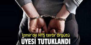 İzmir'de yakalanan terör örgütü üyesi tutuklandı