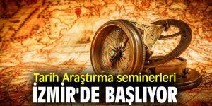 Tarih Araştırma seminerleri İzmir'de başlıyor
