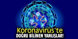 Koronavirüs'te Doğru Bilinen Yanlışlar!
