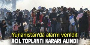 Yunanistan'da alarm verildi! Acil toplantı kararı alındı