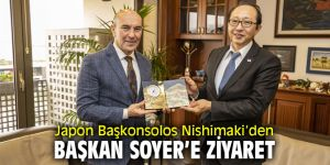 Japon Başkonsolos, Başkan Soyer'i ziyaret etti
