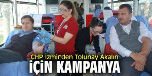 CHP İzmir İl Örgütü'nden Tolunay Akalın için kampanya